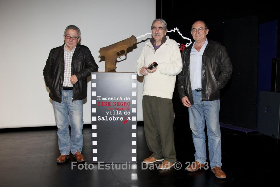 Manuel Blancho Chivite, Javier Maqua y Juan Madrid