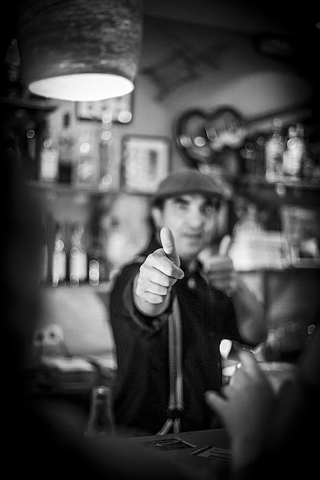 Paco Carmona, propietario y barman de fusion
