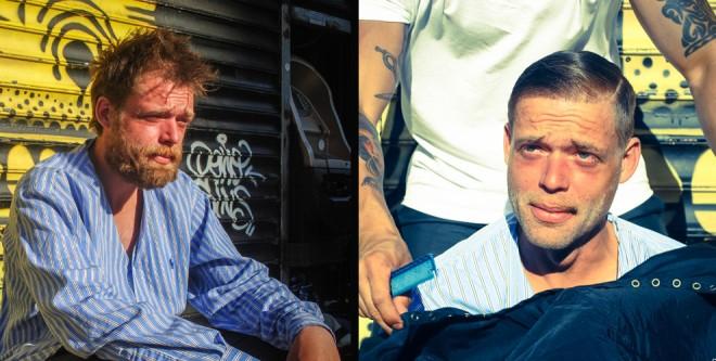 El estilista de los homeless de Nueva York