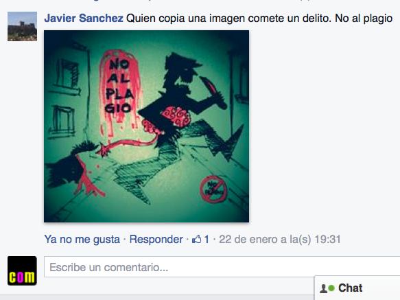 Javier Sánchez es uno de los participantes no premiados que comentó, con ilustración incluida, el otro artículo que publiqué