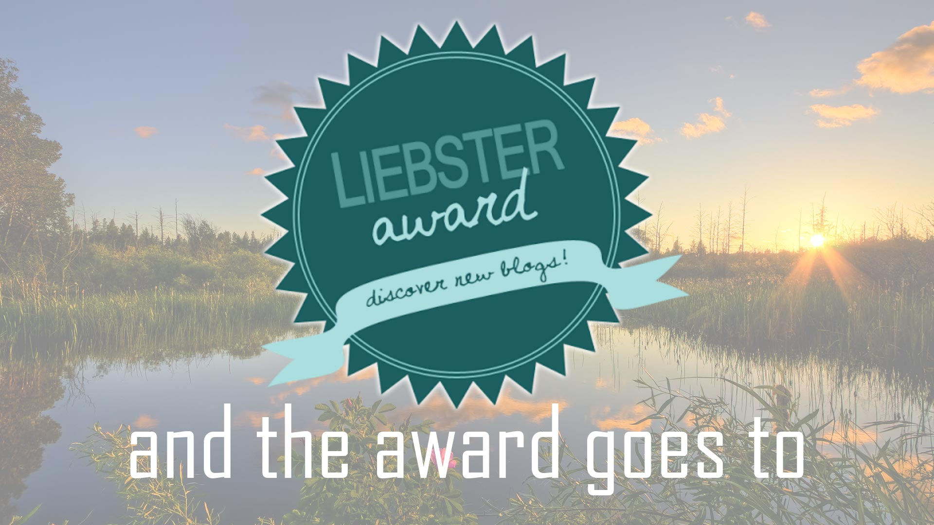 liebster awards - comunica o muere