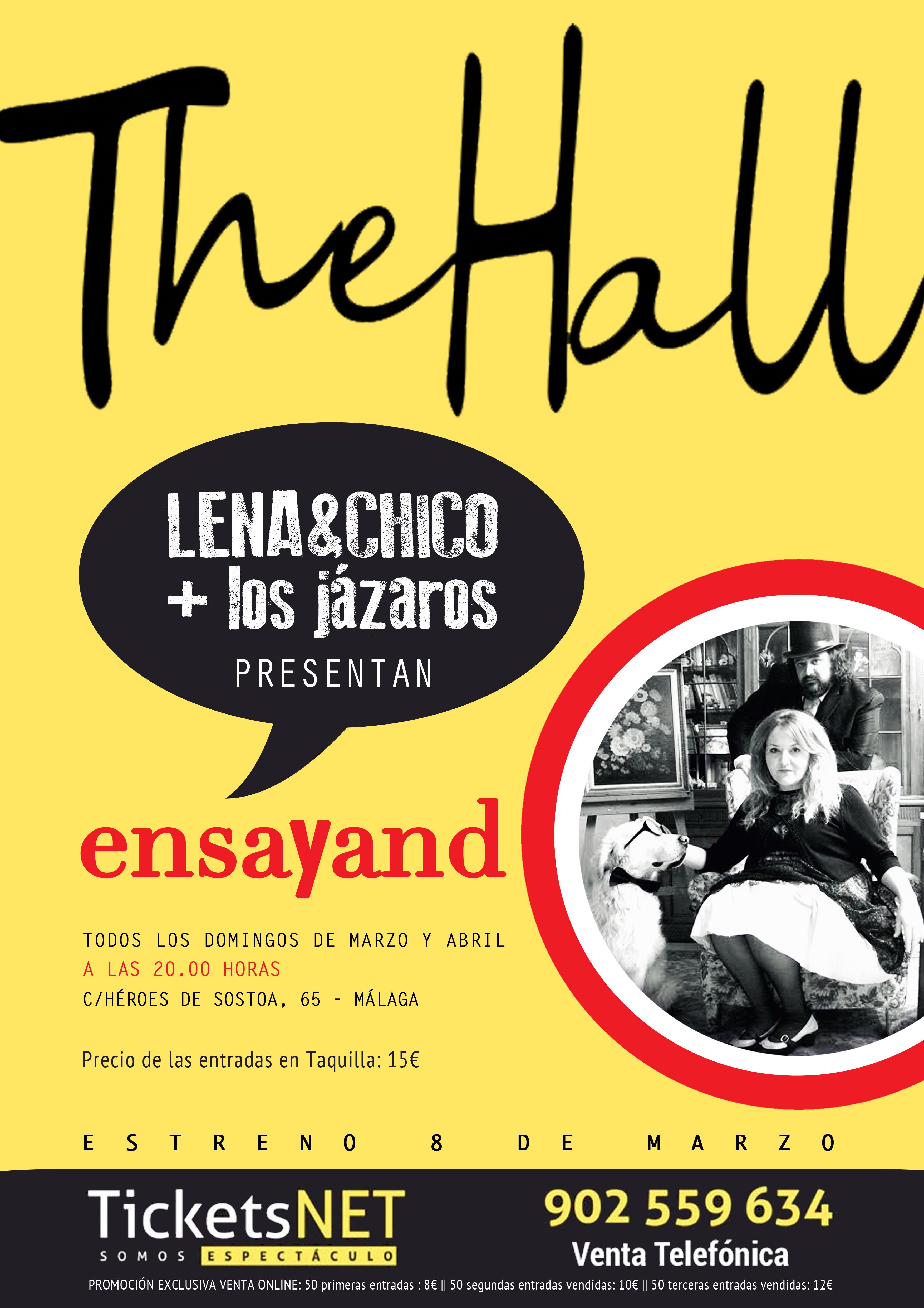 THE HALL ENSAYANDO ESTRENO IMG