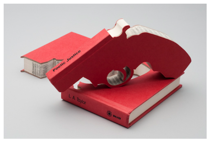 Book Art - Robert The - Bookguns