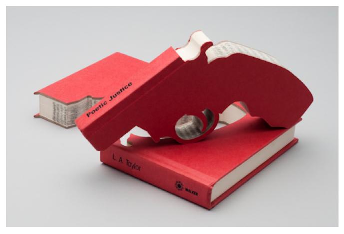 Book Art - Robert The - Bookguns