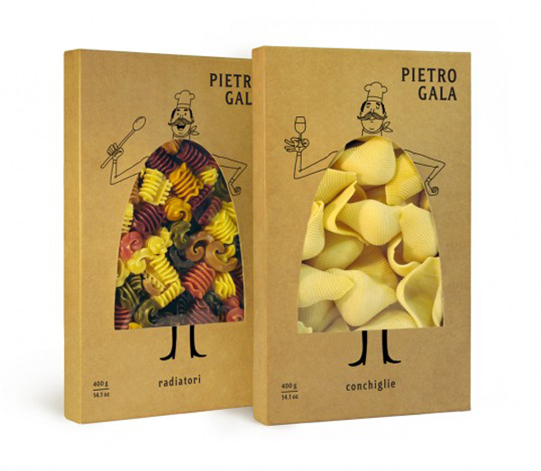 packaging creativos pasta